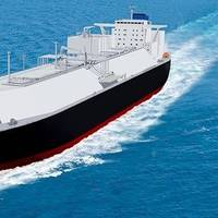 LNG carrier rendering courtesy of MOL