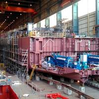 LNG powered hopper Minerva under construction in Kinderdijk Photo Royal IHC