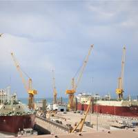 LNG Vessels at NKOM Shipyard. Photo: NKOM