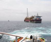 floating production storage and offloading unit (FPSO) Usan, offshore Nigeria