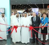 (L-R) Khalifa M. Al Qubaisi, General Manager, IRSHAD; Awaidha Murshed Al Murar, Director of Shared Services, ADNOC; and Chris Hayman, Chairman of Seatrade.