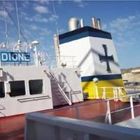 (L-R) m/v Danae and m/v Dione. Pic: Diana Shipping Inc.