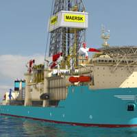 Maersk Drill Ship: Photo courtesy of Maersk Drilling