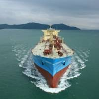 Maersk Gas Tanker: Photo credit Maersk Tankers