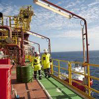 Maersk Peregrino FPSO off Brazil.  Photo: Oeyvind  Hagen Statoil