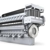 MAN V28/33D STC engine, in 20-cylinder version (Image: MAN Diesel & Turbo)