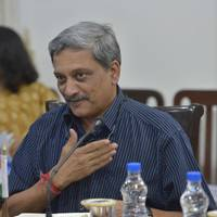 Manohar Parrikar (DoD file Photo by Glenn Fawcett)