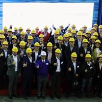 MAN's Shanghai ceremony as it rolls out a new EGR solution.CREDIT: MAN