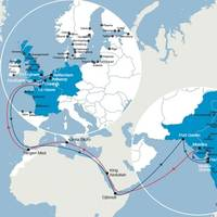 Map: CMA CGM Group.