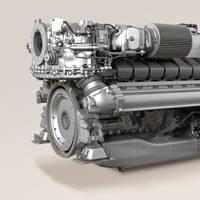Marine Engine MTU 2000: Photo credit MTU