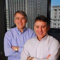 Marine Management, LLC managing member Cliffe Laborde (left), with Peter Laborde
