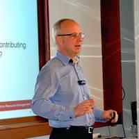 Martin Hernqvist at seminar in February 2013