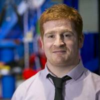 Martyn Wright, one of eight Stork Technical Services graduates