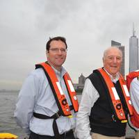 McAllister Towing marks its 150th anniversary this year, and the company's fleet includes more than 75 tugs serving the U.S. East Coast from Maine down to Puerto Rico. Pictured are Buckley McAllister, President; Brian McAllister, Chairman; and Eric McAllister, Chief Operating Officer.