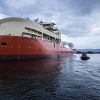 Measuring close to 160 meters in length, Yno 302 is the largest vessel built by Ulstein Verft so far (Photo: Ulstein)