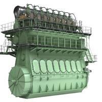 ME-GI engine (Image: MAN Diesel & Turbo)