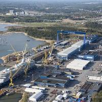 Meyer Werft's shipyard in Turku, Finland (Photo: Meyer Werft)