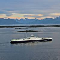 MF Fannefjord is one of the Fjord1 ferries that will use an autonomous charging solution from Zinus. (Photo: Geir Løvbugt / Fjord1)