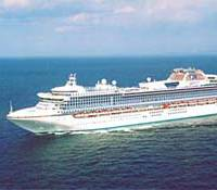 MHI has previous experience in building cruise ships. Pictured here is the 113,000 gt Diamond Princess. (Photo: MHI)
