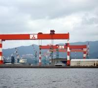MHI Shipyard, Nagasaki: Credit Wiklpedia CCL