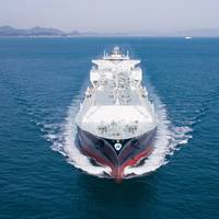 Minerva Kalymnos is one of five Minerva Gas LNG carriers to be covered by long-term Wärtsilä maintenance agreements. (Photo: Minerva Gas)