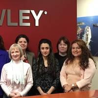 MMS' eight employees include Lisa Haynie, Kelly Kuest, Veronica Veach, Kim Oliver, Klarchen Yap, Bryan Boyle, Katherine Fitz and Daysi Alfaro (Photo: Crowley)
