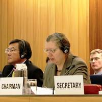 MO Secretary-General Koji Sekimizu and SDC Chairman