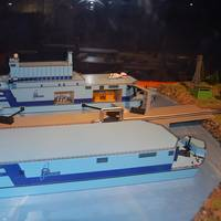 Models of floating nuclear barges: Image credit Wiki CCL