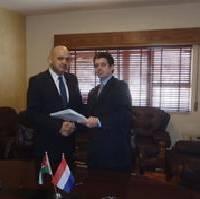 Mohammed Alsarraf (l) and Willem Misdorp (r)