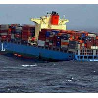 MOL Comfort before sinking: Photo courtesy Indian Coast Guard