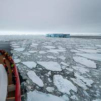 MS Roald Amundsen carries passengers to 70 Degrees South in the Antarctic region, the furthest south of any Hurtigruten expedition cruise ship in the company's 127-year history. Image: Hurtigruten
