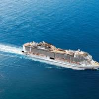 MSC Cruises, the industry's largest privately owned company, is in the midst of a $13 billion expansion which will bring its fleet, following the delivery of MSC Meraviglia in 2017, to 25 vessels by the mid 2020's. Still on order are four Meraviglia class ships. Photo: MSC