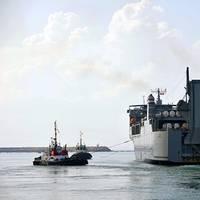 MV Cape Ray (U.S. Navy photo by William Clark)