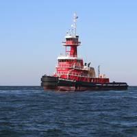M/V Morton S. Bouchard Jr. on sea trials (Photo: VT Halter Marine)