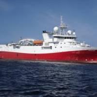 MV Polar Duke: Photo credit Dolphin Geophysical