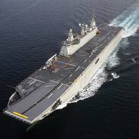 Navantia has counted on navy business to sustain itself in recent years, building ships such as this LHD.