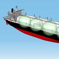 New liquefied natural gas (LNG) vessel for the Cameron LNG project photo NYK