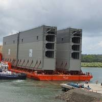 New Panama Lock Gate: Photo courtesy of ACP