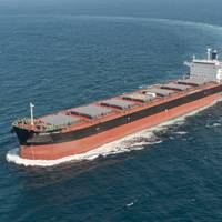 Newly developed bulk carrier with MALS (Photo: MHI)