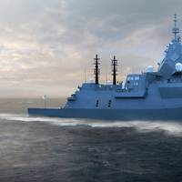 Nine Hunter Class Frigates will be built in Adelaide by a workforce of more than 2,400. (Image: BAE Systems)