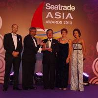 Noboru Ueda - Seatrade Asia Awards 2013