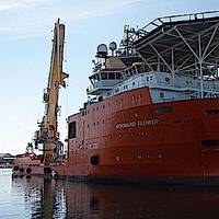Normand Flower: Photo courtesy of Solstad Offshore