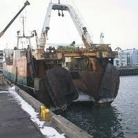 North Sea Fishing Trawler: Photo Wiki CCL