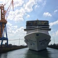 Norwegian Epic at Damen Shiprepair Brest