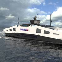 Norwegian ferry operator Norled is developing hydrogen-powered ferries (Image: LMG Marin)
