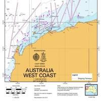 NW Australia Shipping Fairways: Image credit AMSA