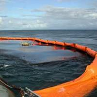 Oil spill clean-up: File photo