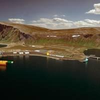 Oil Terminal at Veidnes: Illustration courtesty of Statoil