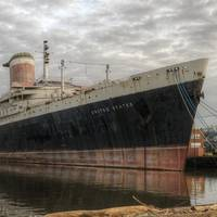 Once one of the world's greatest ships, the SS United States has fallen into a state of disrepair (Photo courtesy of the SS United States Conservancy)