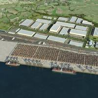 London Gateway Project: Artist's Impression Credit DP World